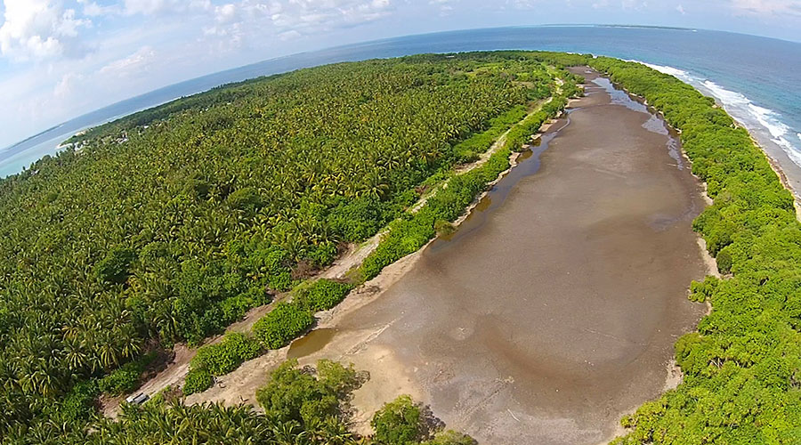 There are 10 different water bodies on Baarah which can be considered different wetland areas, though some of which were originally single water bodies and later divided into separate areas from human and natural causes. Additionally, not all of these areas are ideal for mangrove habitats.